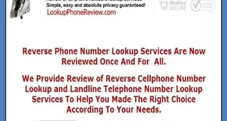 Lookup On A Cell Phone Number