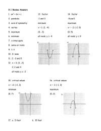 Worksheet Graphing Quadratic Functions A 3 2 - Breadandhearth