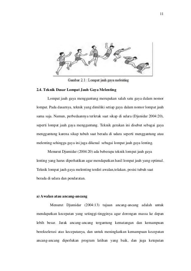 Teknik Dasar Lompat Jauh Gaya Menggantung : teknik, dasar, lompat, menggantung, Revisi