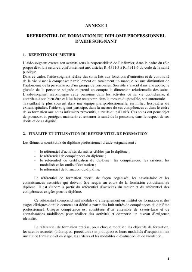 Module 5 Aide Soignante Exemple : module, soignante, exemple, Réferentiel, Formation, Diplôme, D'Etat, Soingnante