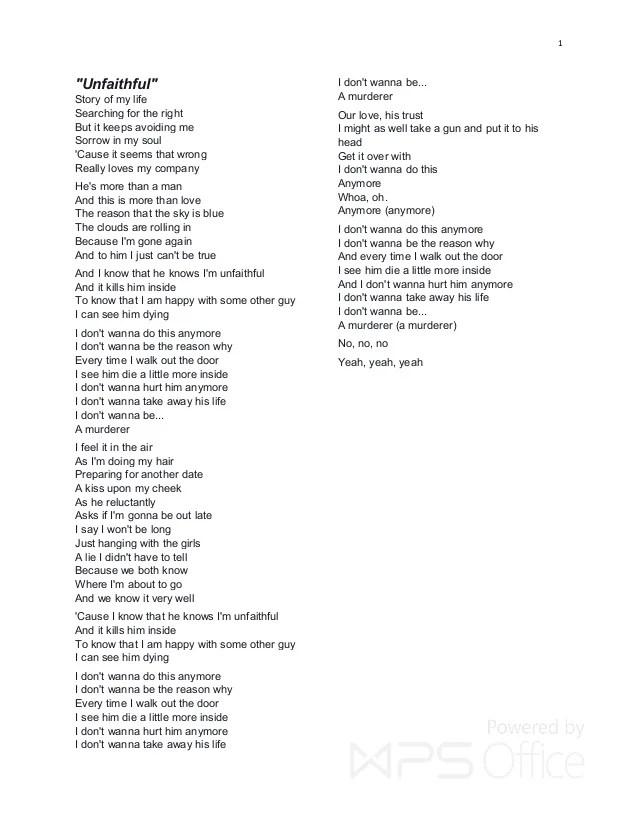 Ooh Baby I Need You In My Life Lyrics : lyrics, RIHANNA, LYRICS