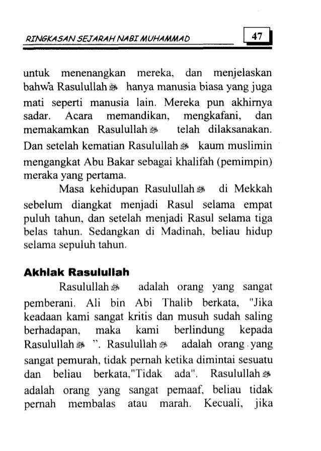 Kapan Nabi Muhammad Menjadi Rasul : kapan, muhammad, menjadi, rasul, Ringkasan, Sejarah, Muhammad