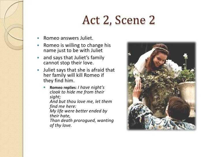 Romeo and Juliet Act 2 Scenes 12 Notes