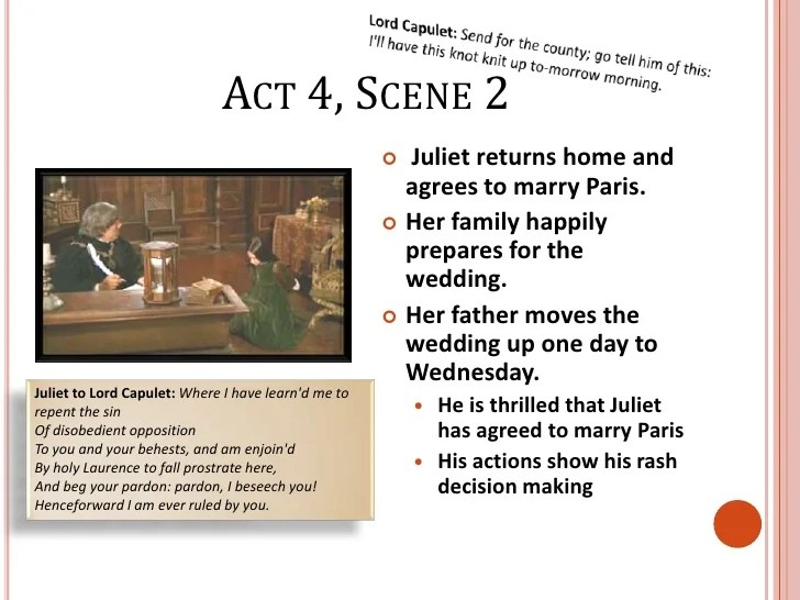 Image Result For Romeo And Juliet Act Scene Ysis