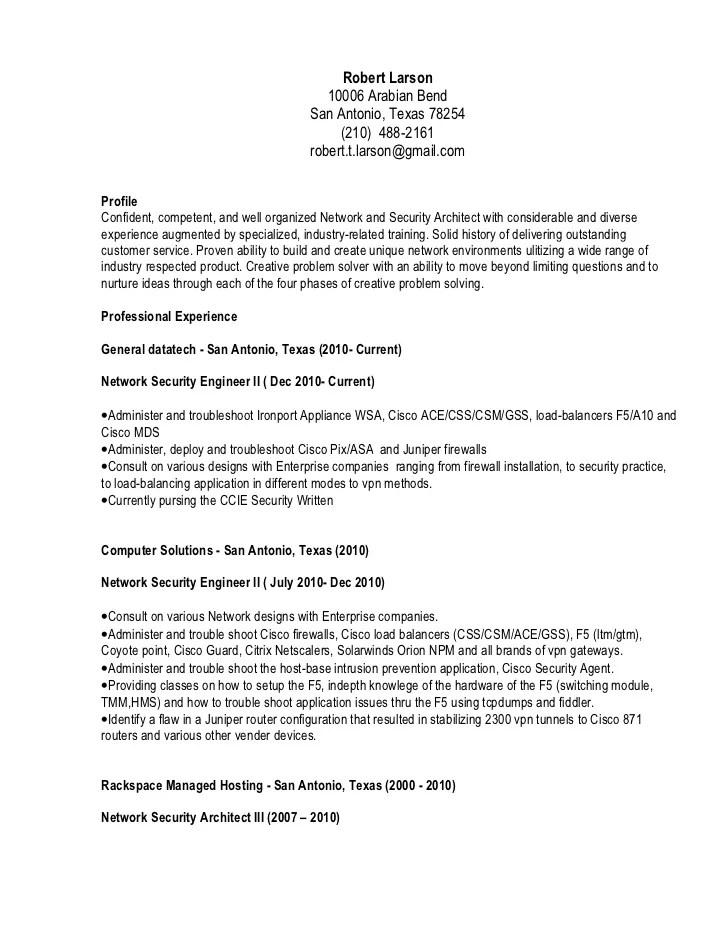 ccna entry level resume sample