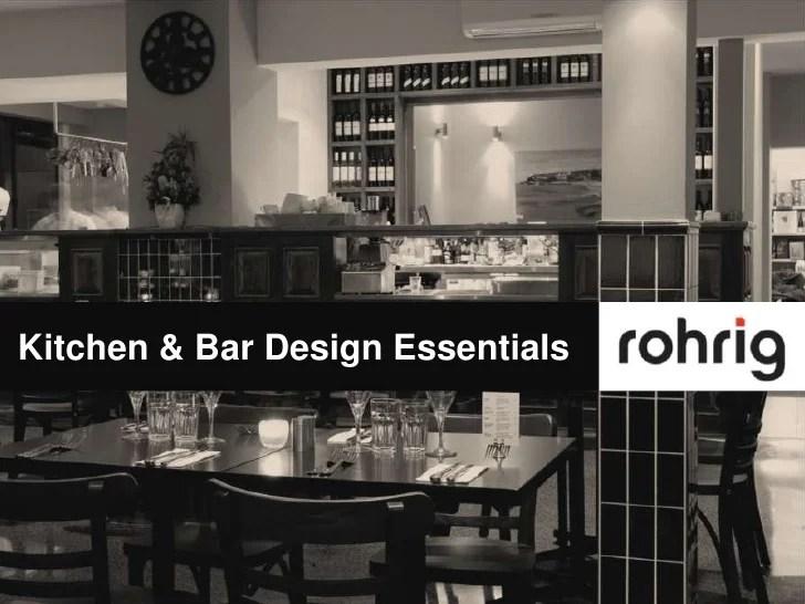 Small Kitchen Design Essentials