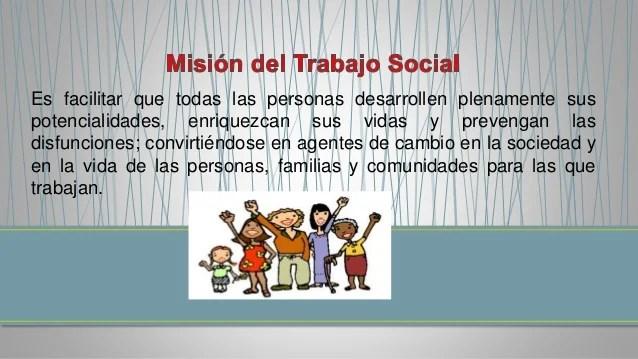 Rol del trabajador social