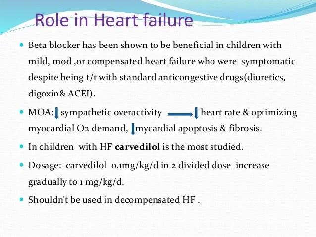 Role of beta blockers in pediatrics