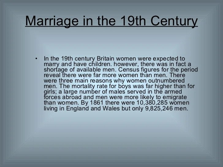 19th Century Role Of Women