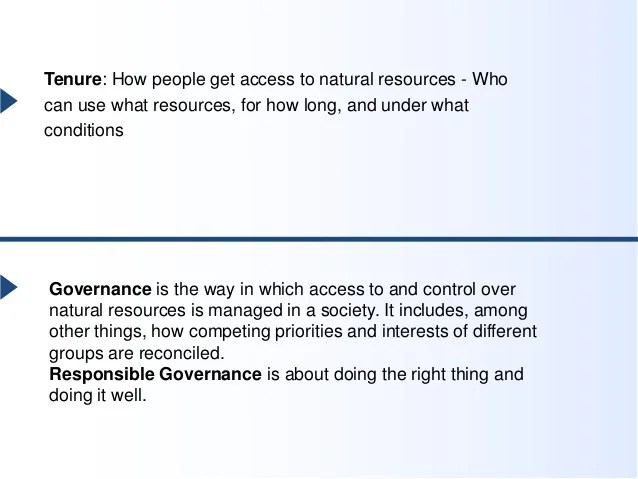 The Voluntary Guidelines on the Responsible Governance of ...