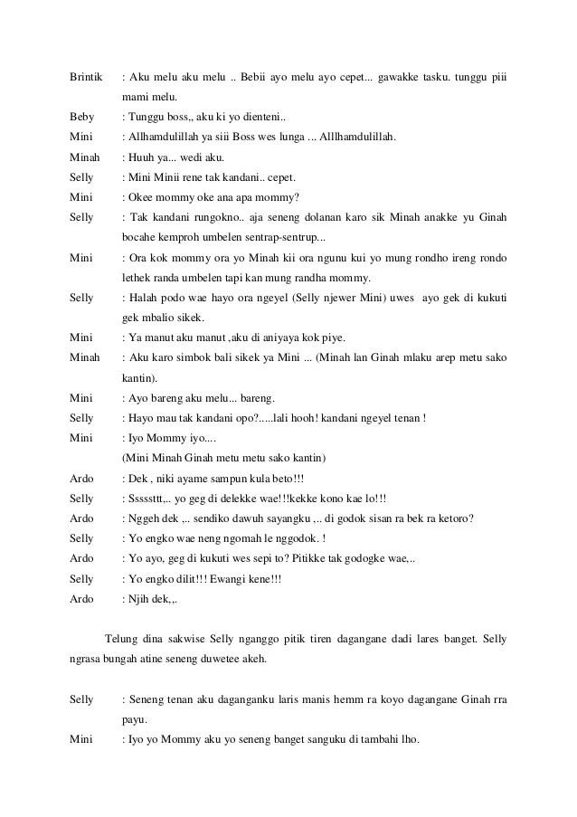 Contoh Percakapan Bahasa Jawa 2 Orang Aneka Macam Contoh Resep Kuini