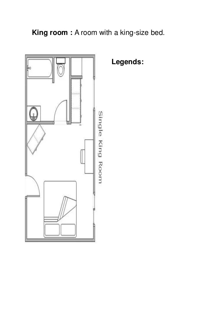 a room diagram