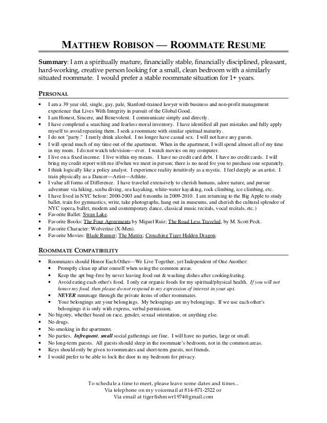Resume Format Mckinsey Resume Template