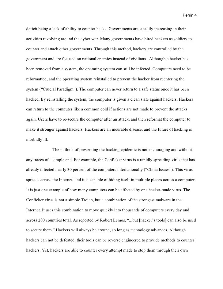 Research Paper Hacker Plague