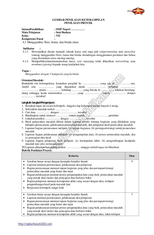 Rpp Seni Budaya Smp Kelas 7 8 9 Kurikulum 2013 : budaya, kelas, kurikulum, Budaya, Kelas, Kurikulum