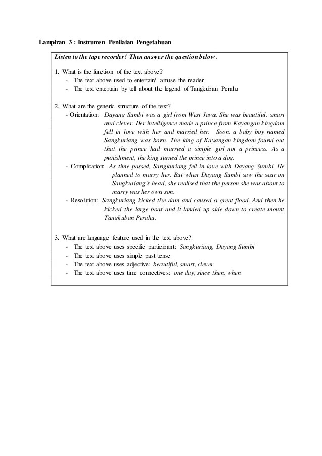 Teks Narasi Bahasa Inggris : narasi, bahasa, inggris, Narrative, Bahasa, Inggris