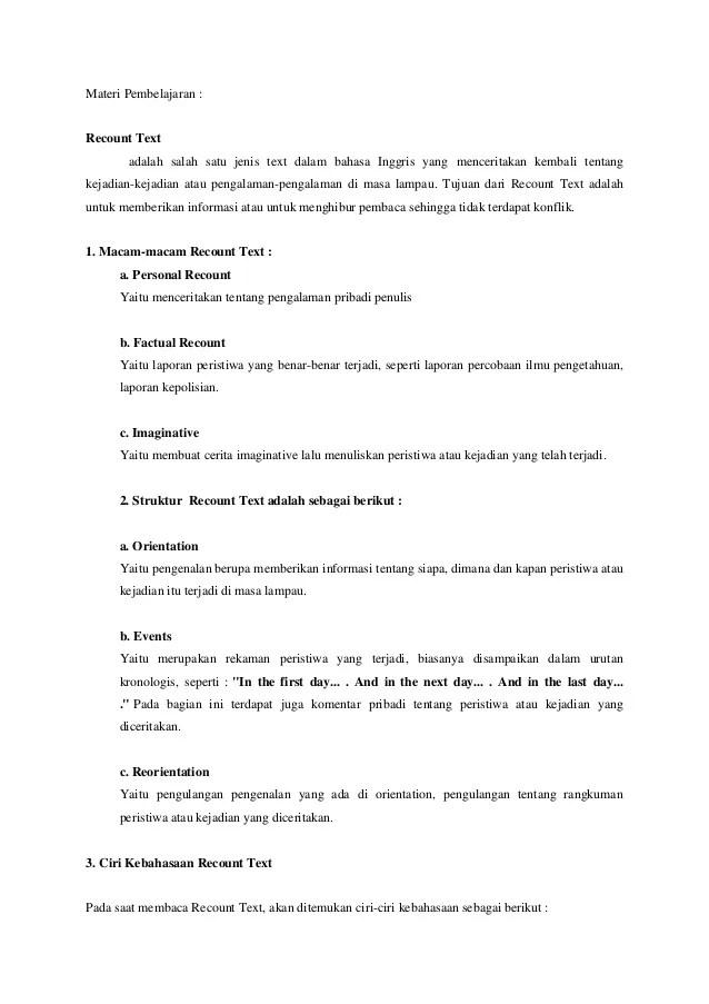 Contoh Recount Text Tentang Liburan Di Rumah : contoh, recount, tentang, liburan, rumah, Contoh, Recount, Tentang, Liburan, Sekolah, Barisan