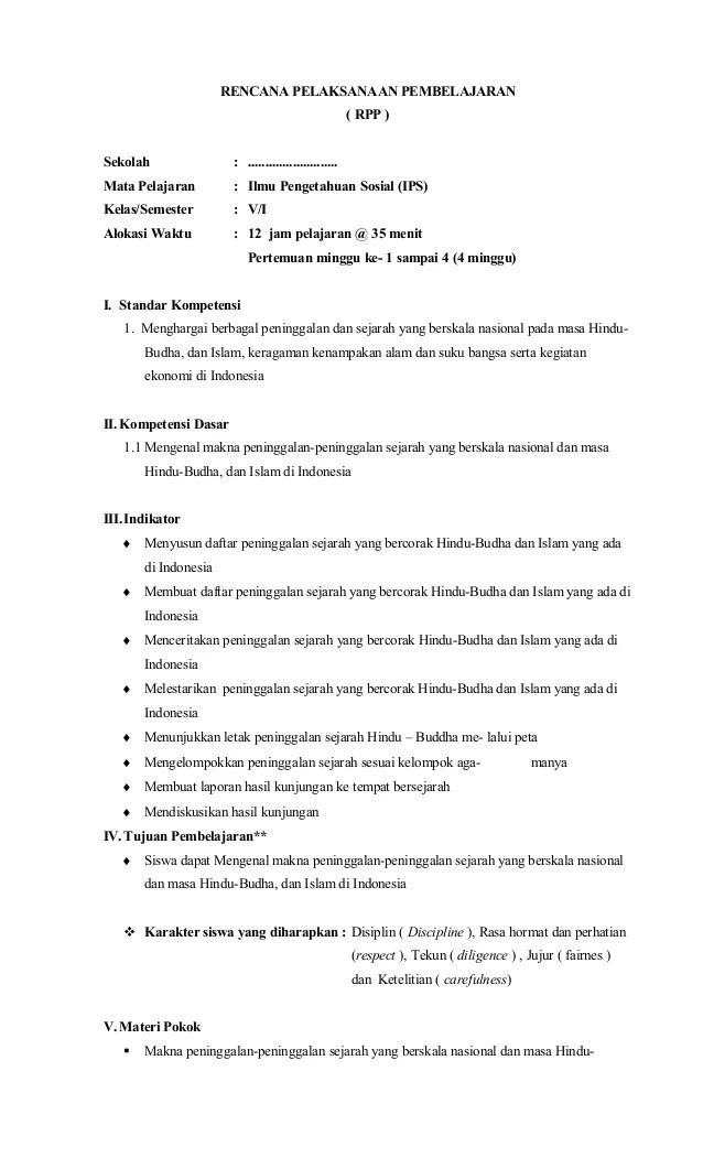 Perangkat Pembelajaran Kelas 5 Kurikulum 2013 Revisi 2018 : perangkat, pembelajaran, kelas, kurikulum, revisi, Contoh, Kelas, Download