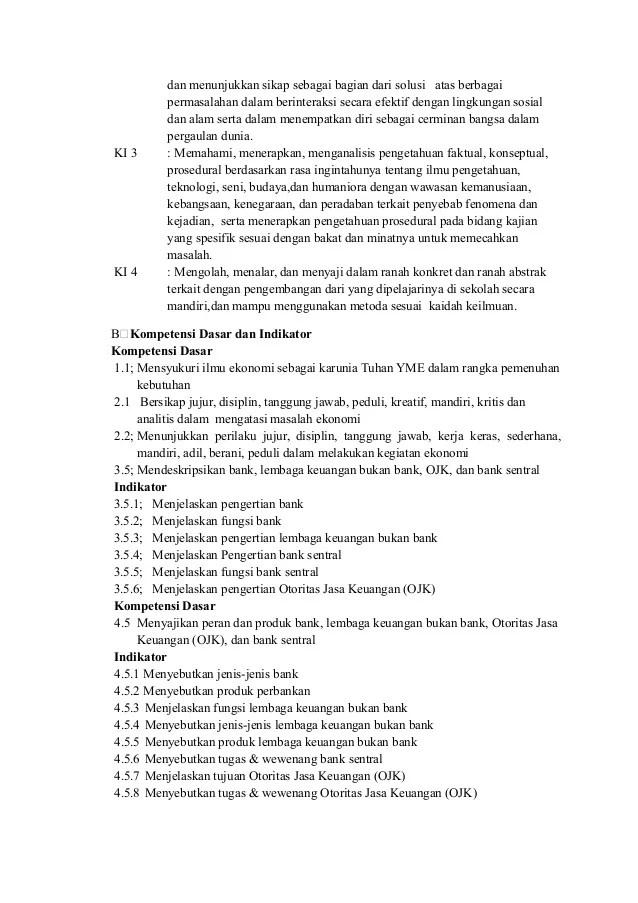 Rpp Ekonomi Sma X Kd 3 5