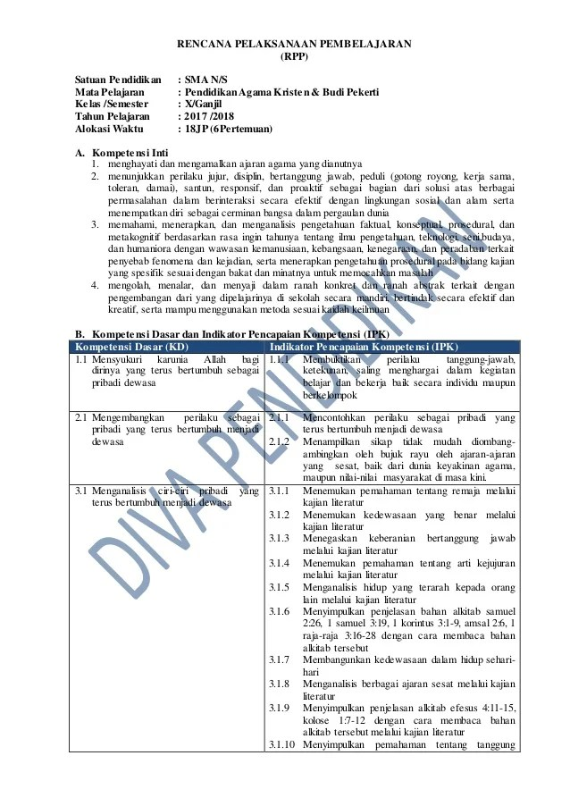 Download rpp SD kelas 2 kurikulum 2013 revisi 2017... - kepriwen