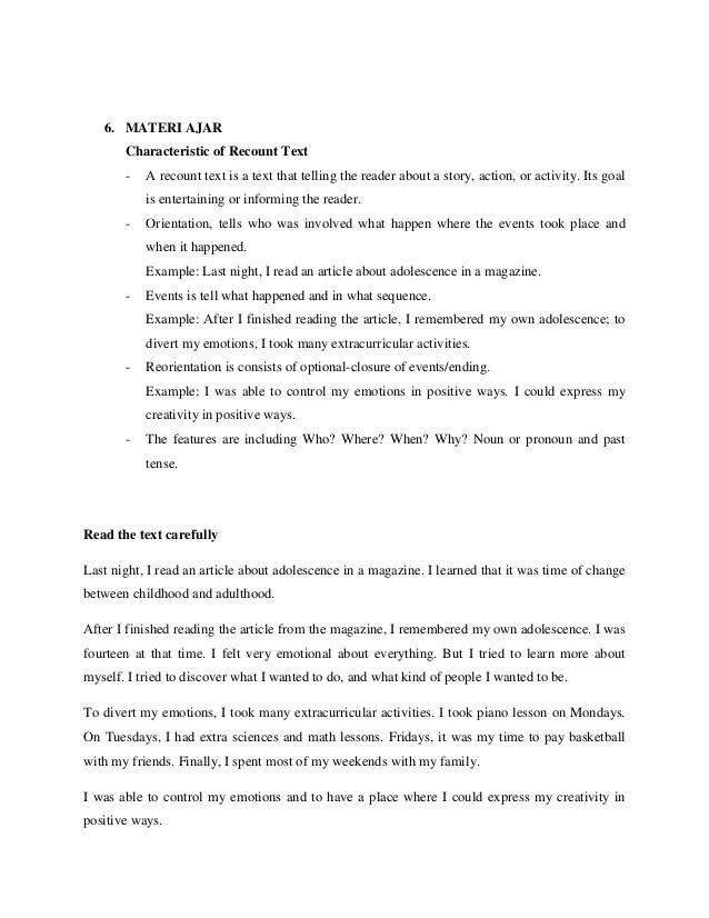 Contoh Recount Text Beserta Artinya : contoh, recount, beserta, artinya, Biography, Recount, Bahasa, Inggris, Kelas, Dokter, Andalan