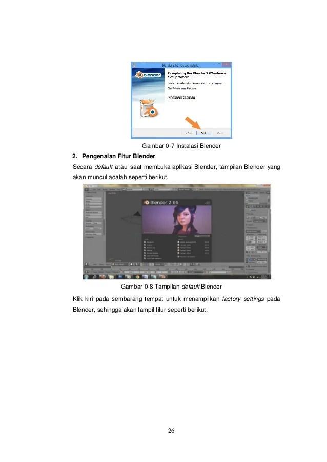 Fitur Aplikasi Blender : fitur, aplikasi, blender, Simulasi, Visual, (blender), SEAMOLEC