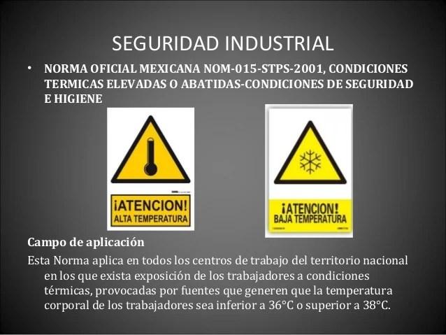 Seguridad industrial agentes fisicos