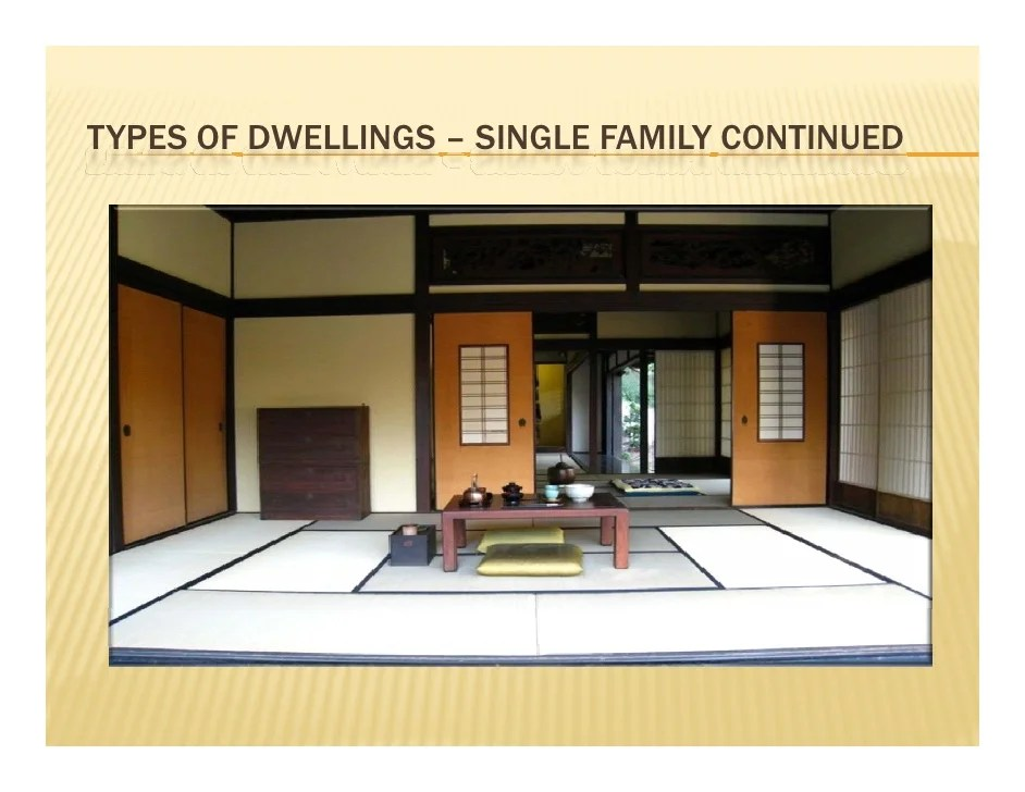 japanese housing overview