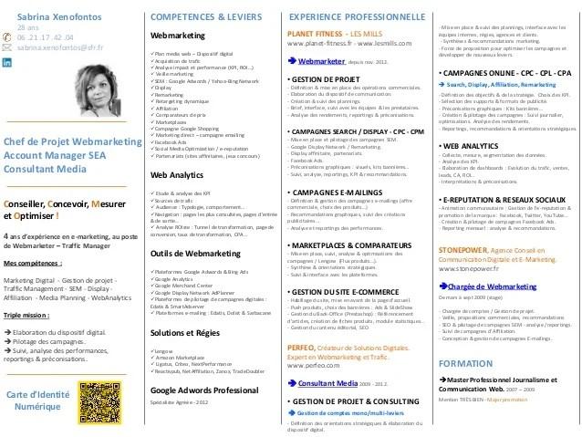 competences digital cv
