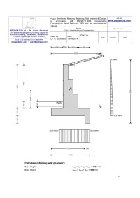 Sachpazis reinforced masonry retaining wall analysis ...