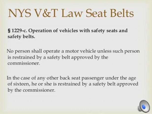 Nys Seat Belt Law Brokeasshome Com