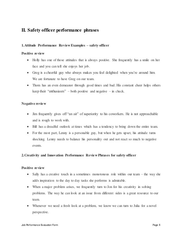 Workplace Safety Phrases