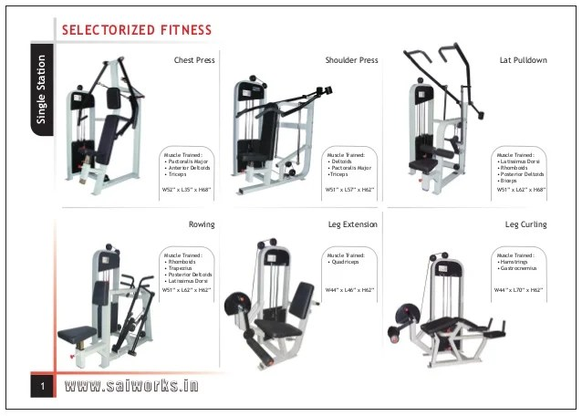 Gym Equipment: Names Of Gym Equipment