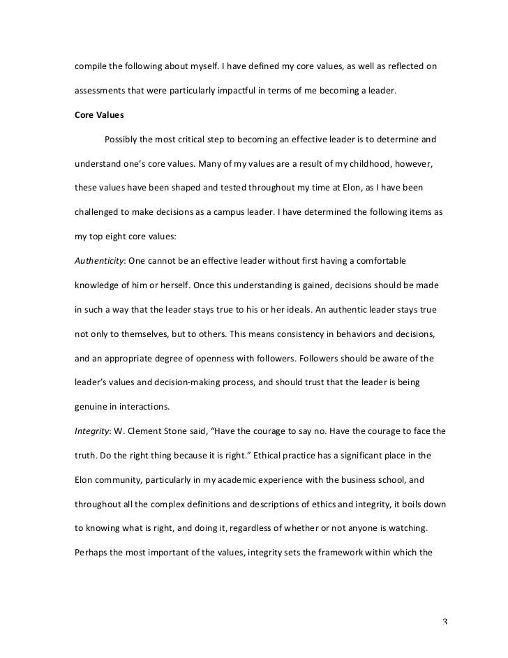 Personal Leadership Essay Argumentative Essay On Dress Codes The