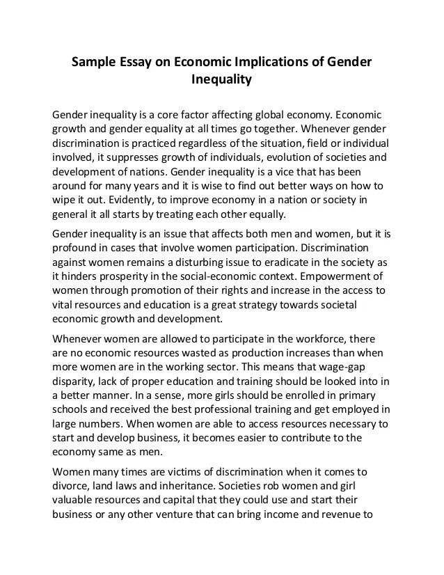 Essay On Gender Bias Gender Essays Twenty Hueandi Co Gender