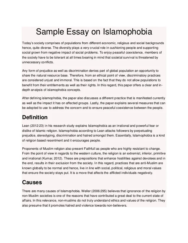 Sample Essay On Islamophobia 1 638 ?cb=1432106417