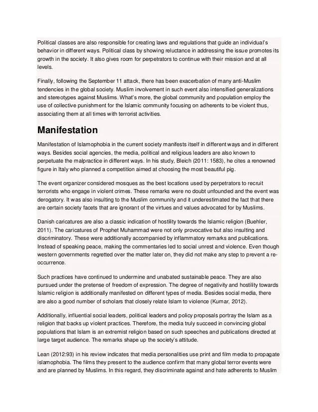 Buy Essay Paper Terrorism And Islam Essay Sample Essay On Islamophobia Of Muslim High School And College Essay also Persuasive Essay Example High School Example Of Research Paper On Islam Religion Short Essays In English
