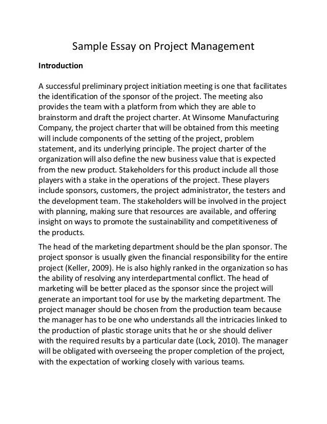 Management Essays Business Management Essay Management Essay Writing