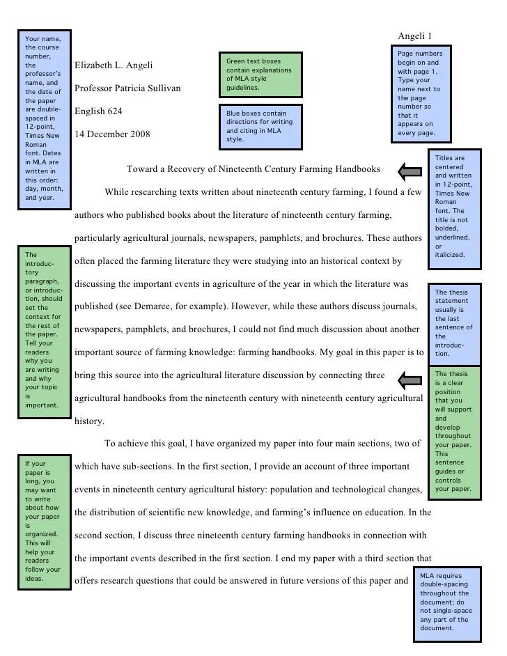 Image Slidesharecdn Com Samplemla7paperwannotation