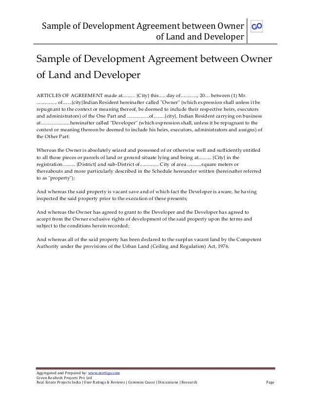 Sample Agreement Between Two Companies Create Professional