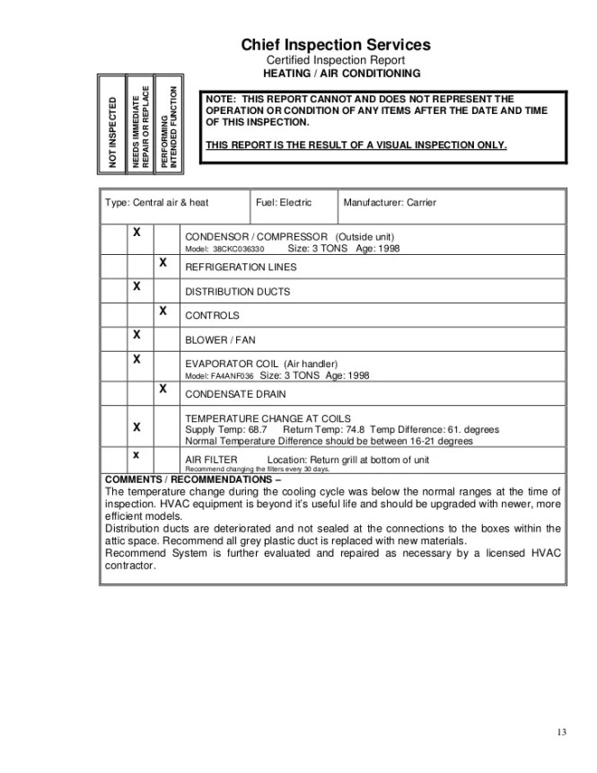 house inspection report sle] - 100 images - sle spreadsheet for ...