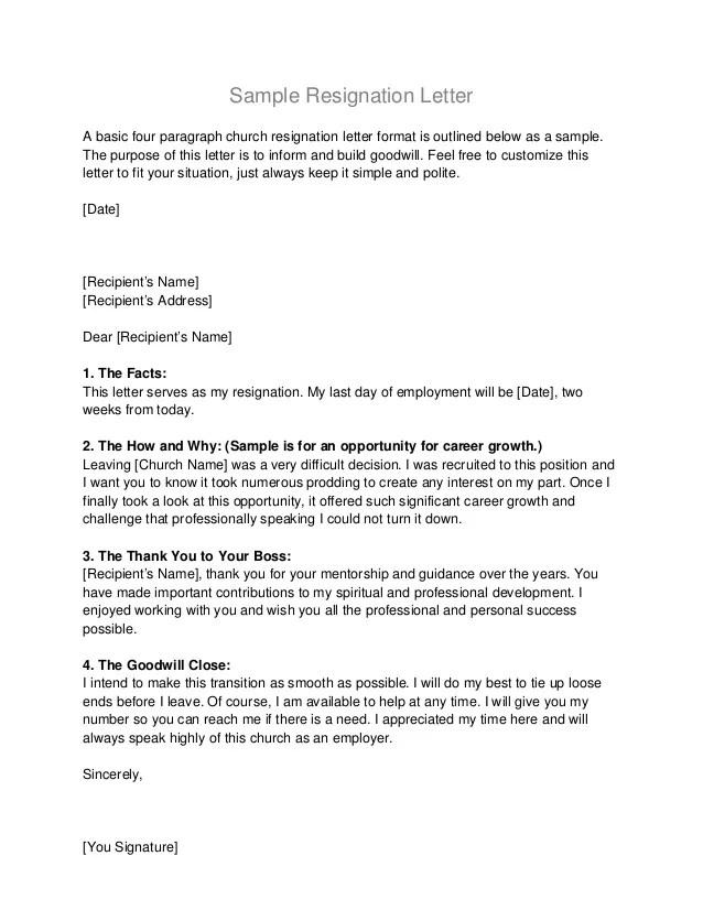 standard official letter format