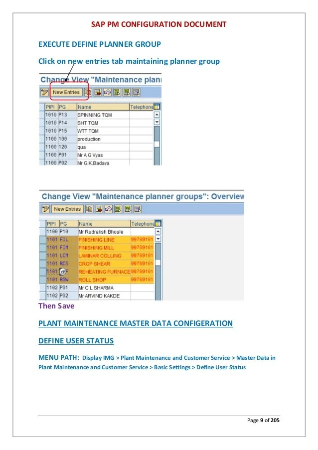 Plant Maintenance With Sap Ebook