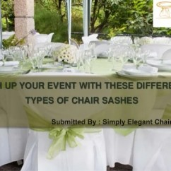 Simply Elegant Chair Covers And Linens Large Sash Up Your Event With Different Types Of Sashes