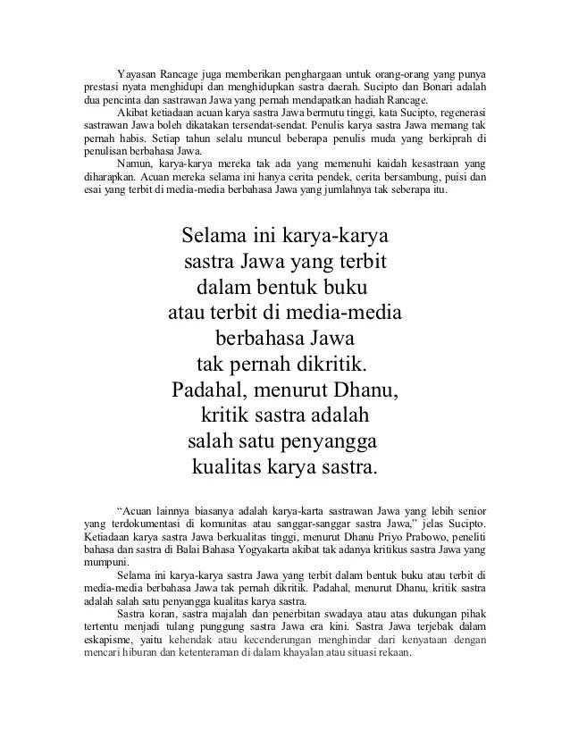 Puisi Bahasa Jawa Tentang Lingkungan : puisi, bahasa, tentang, lingkungan, Kumpulan, Contoh, Puisi, Bahasa, Tentang, Lingkungan, Terbaik