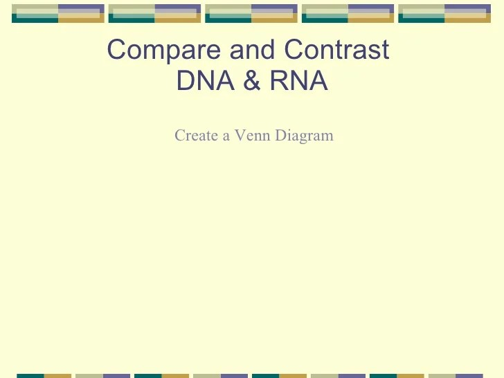 venn diagram comparing dna and rna vw sharan door wiring compare contrast periodic diagrams science using a
