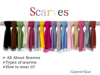 Types Of Scarves - Erieairfair