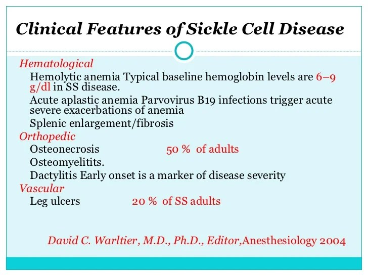An Introduction To The Issue Of Sickle Cell Anemia Custom Paper
