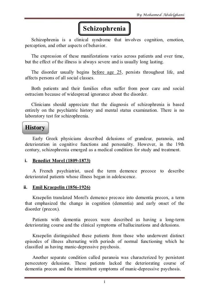 Dsm 5 Assessment Example