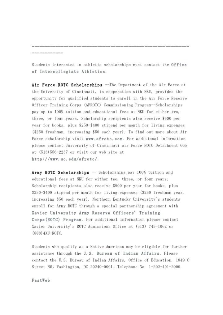 Nrotc scholarship essay help